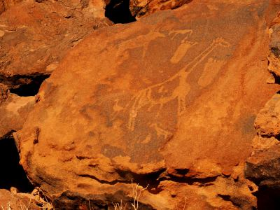 Twyfelfontein petroglifos