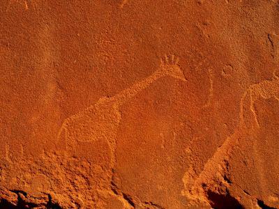 Los fantásticos petroglifos de Namibia
