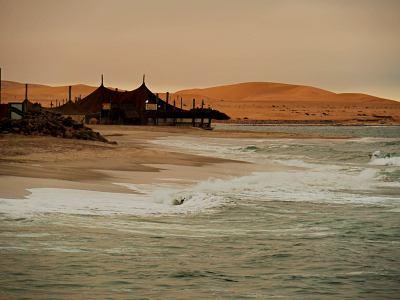 La costa de Namibia