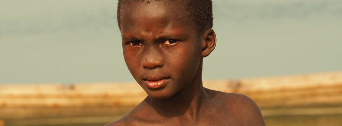 Niño en Cacheu