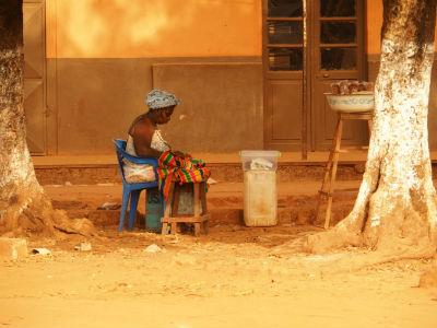 Vendedora en Cachungo