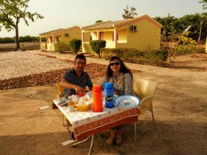 Campamento de Gamal en Cachungo