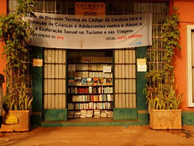 Librería en el centro de Bissau