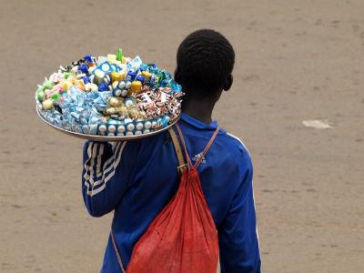 Vendedor en Camerun