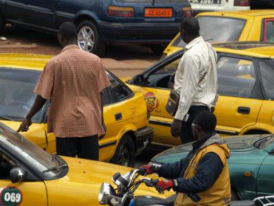 Yaounde y los taxis