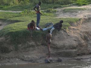 A orillas del río Benoue