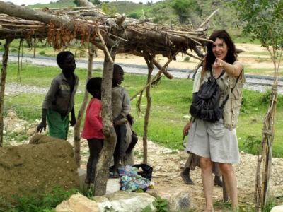 Parada en un poblado del norte de Camerún