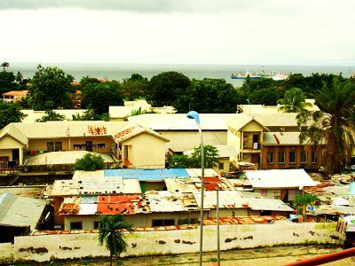 Malabo desde nuestro balcón