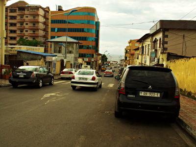 Una calle de Malabo