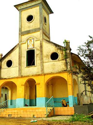 Una iglesia de Bioko
