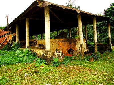 Secadero de cacao de Bioko
