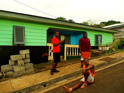 Unos chicos en Bioko