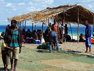 Paquitequete poblado de pescadores en Pemba
