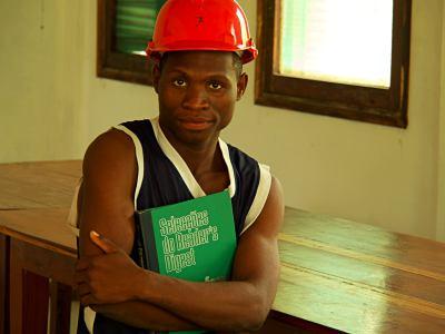 Estudiante de la Fundación Ibo
