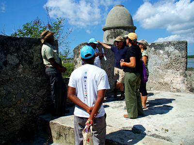 Estudiantes de turismo de la fundación Ibo