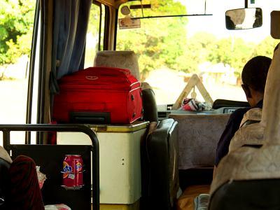 Mi maleta roja camino de la isla de Mozambique