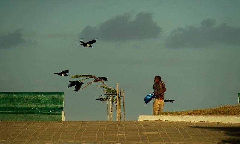 Un niño en la Isla de Mozambique