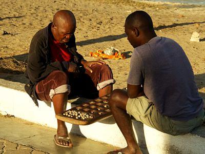 Juegos en la isla de Mozambique