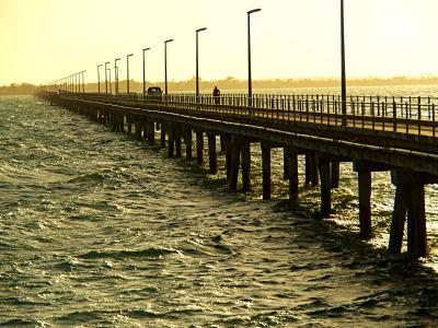 Puente para llegar a la Isla de Mozambique