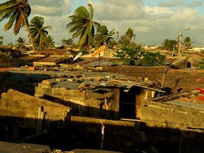 Las calles de la Isla de Mozambique
