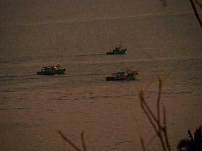 Barcos entrando en Maputo