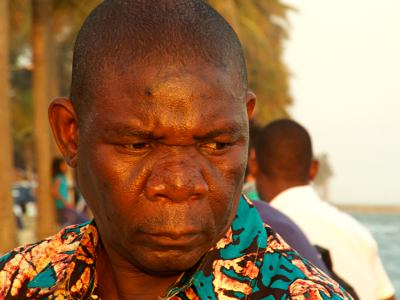Hombre en Maputo