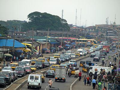 Lagos increíble ciudad