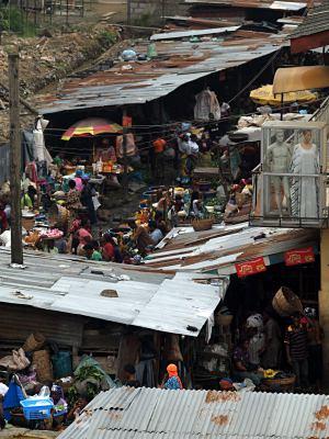 Mercado de Ebutemeta en Lagos