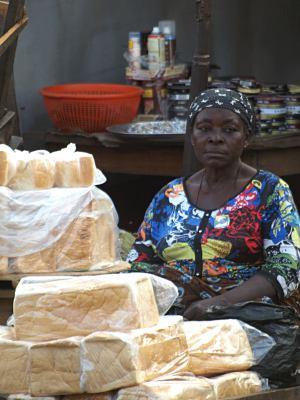 Vendedora en Ebute-Metta