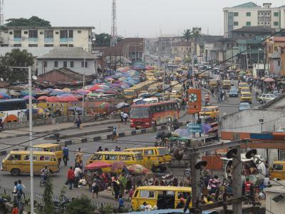 Barrio de Ebutemeta en Lagos