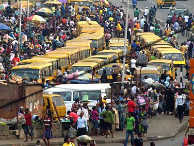 Lagos en hora punta