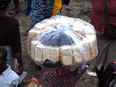 Vendedora en Lagos