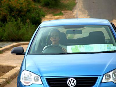 Recorriendo el Kruger en mi coche alquilado