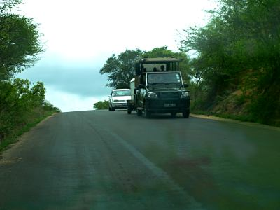 Las carreteras asfaltadas del Kruger