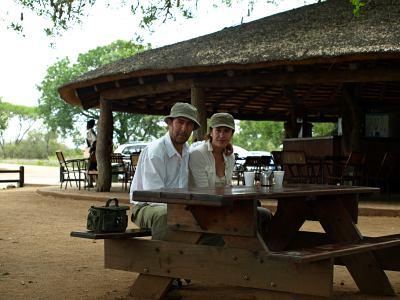 Áreas de descanso en el Kruger