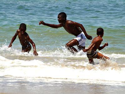 La playa de N'gor