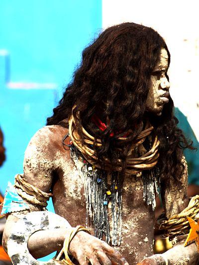 Danzantes en Bissau