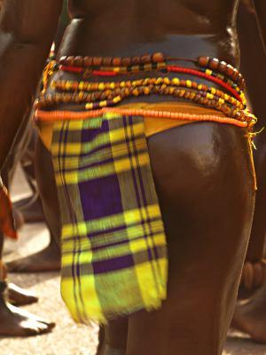 Una chica de Bissau