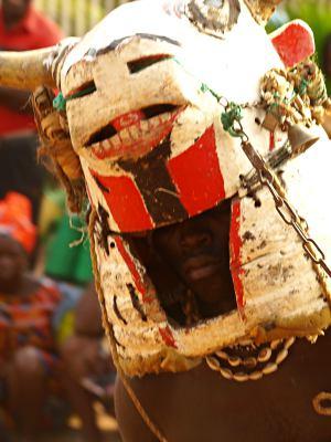 Mascaras en Bissau