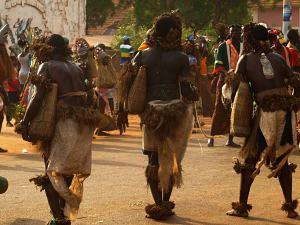Desfile de carnaval en Bissau