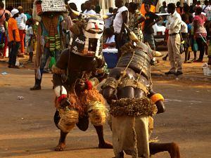 Las luchas durante el Carnaval de Bissau