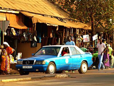 Otra calle de Bissau