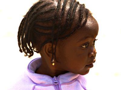 Una niña de Bissau