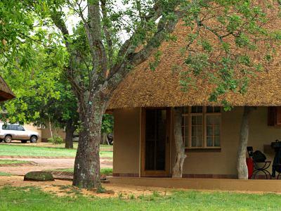 Otra de las formas de alojarse en el Kruger