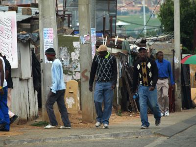 Alexandra township de Johanesburgo