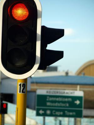 Una calle de Ciudad del Cabo