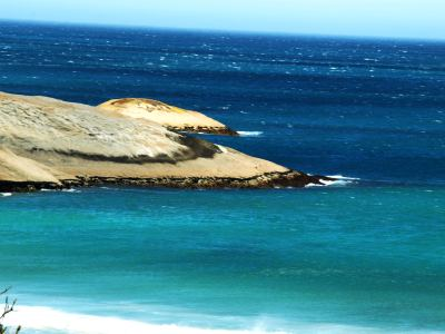Playa cerca de Ciudad del Cabo