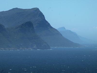 La costa del Cabo de Buena Esperanza