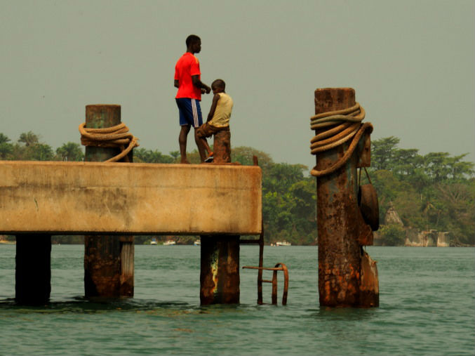 Dos chicos de Guinea Bissau