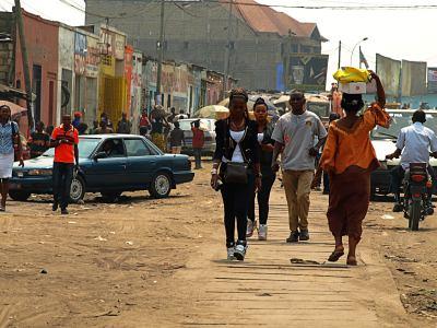 Barrio de Kinshasa